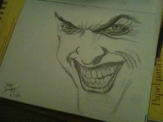 Joker Sketch by KaneFan57