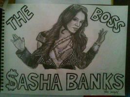 Sasha Banks by KaneFan57
