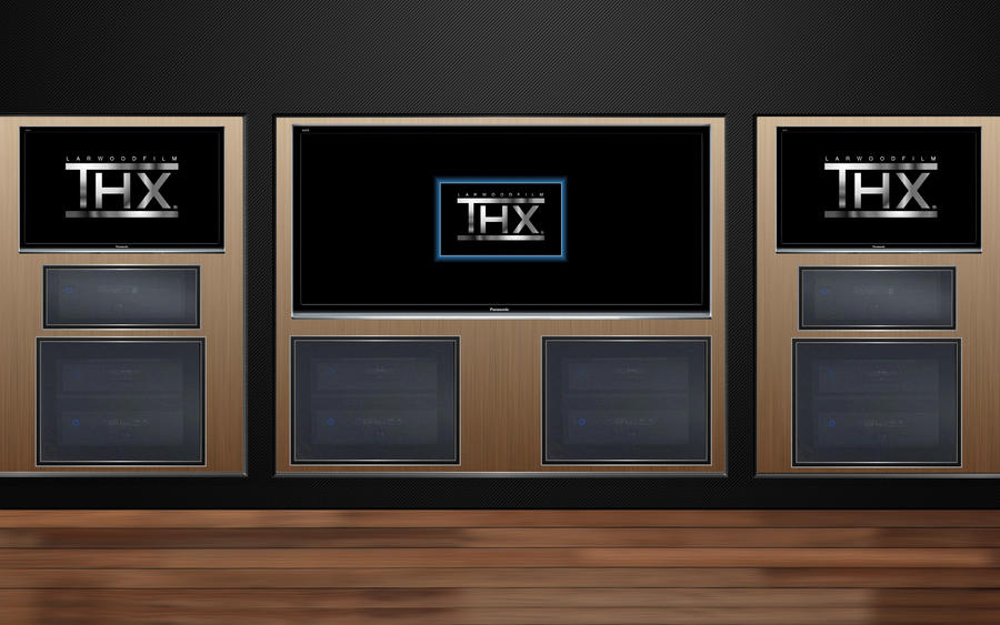 Thx home theater 1 wallpaper 1920x1200 by jserlinart on for Wallpaper home theater
