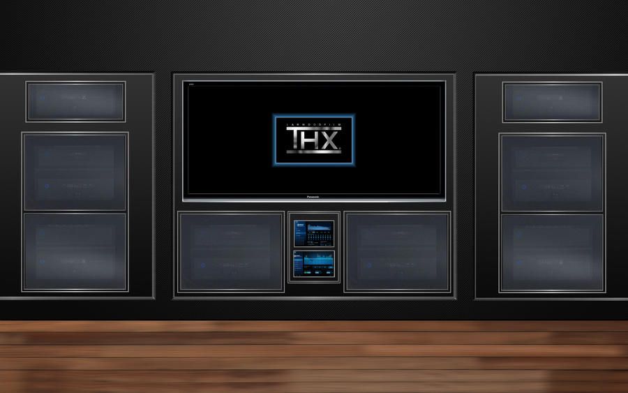 Thx home theater 2 wallpaper 1920x1200 by jserlinart on for Wallpaper home theater