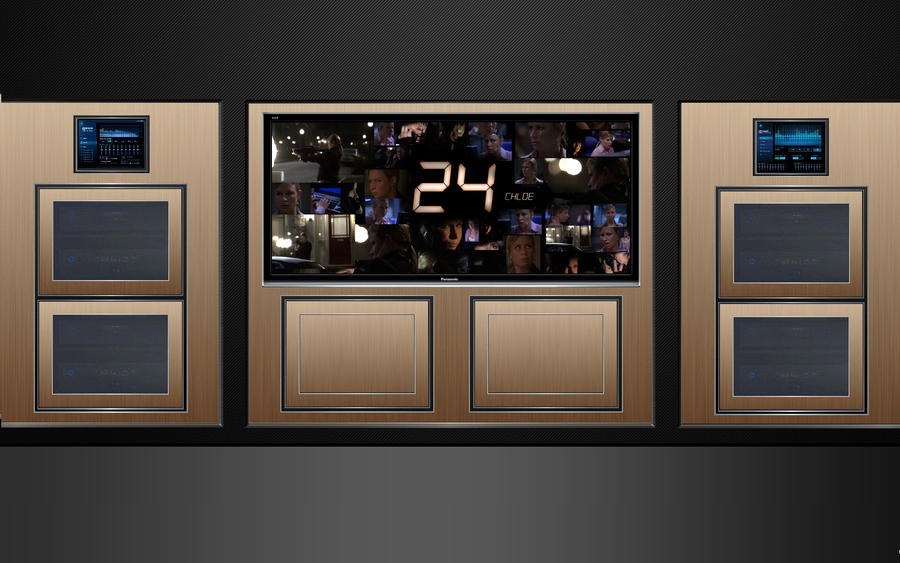 Hd 24 home theater wallpaper 1920x1200 by jserlinart on for Wallpaper live home