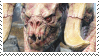 albino deathclaw stamp by odidos