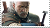 geralt of rivia stamp by odidos