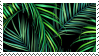 tropical pattern stamp by odidos