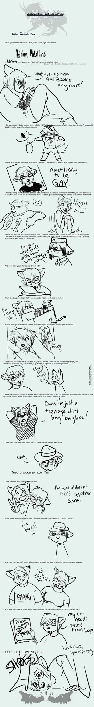 Character Meme: Adrian by amberfoxwing