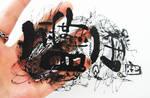 papercutting:on my hand