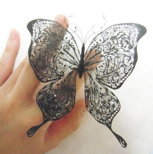papercutting:butterfly
