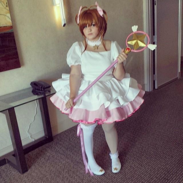 Sakura Kinomoto cosplay by Glaciee