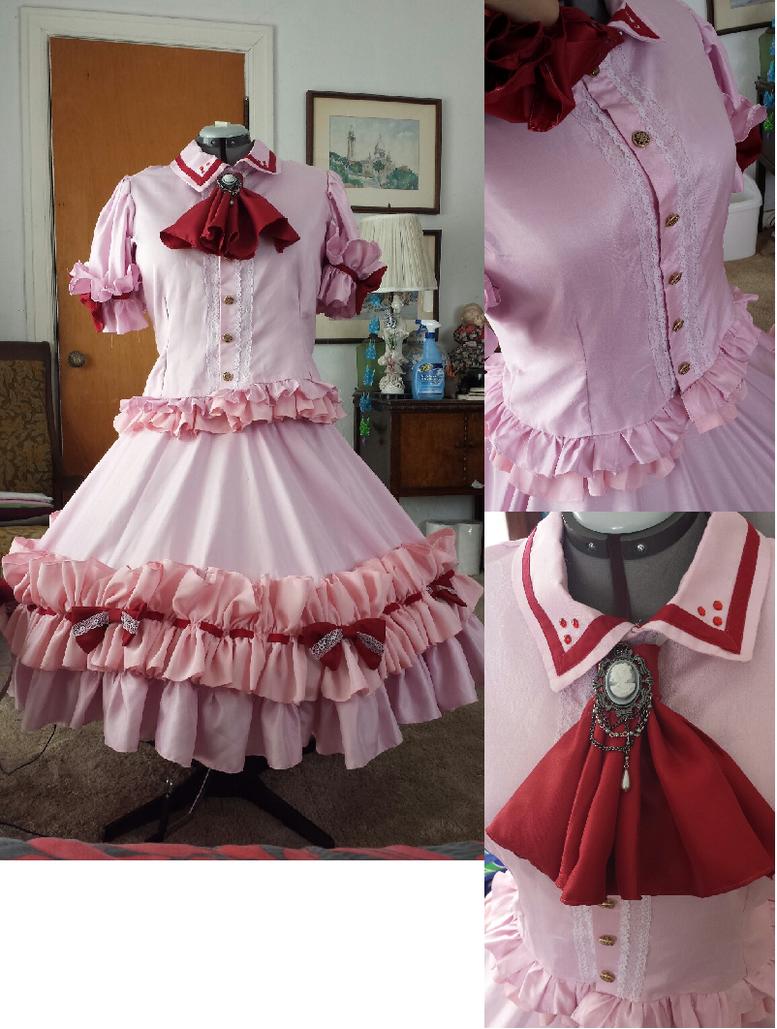 Remilia Scarlet Dress by Glaciee