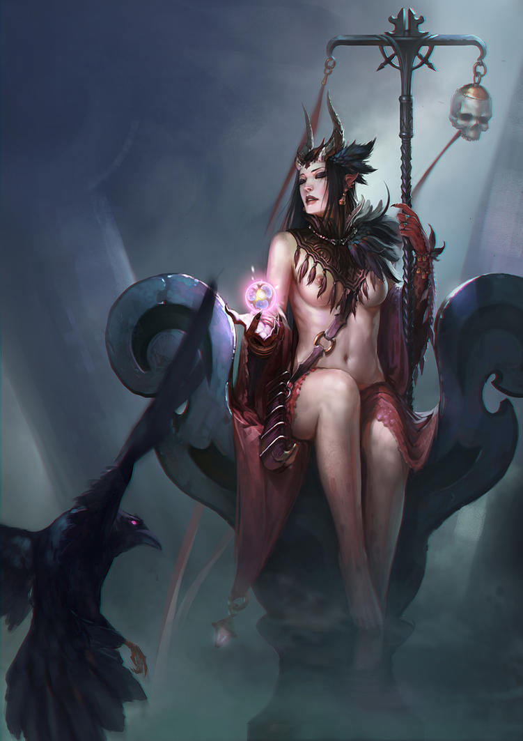 Gglgg123-witch by gongcheng