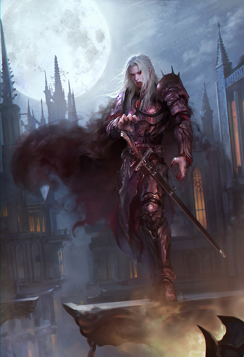 Lord of Vampires, Sanguine Vampire_by_gongcheng-d7zzgvk