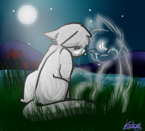 Jayfeather x Half Moon by HollyClowder
