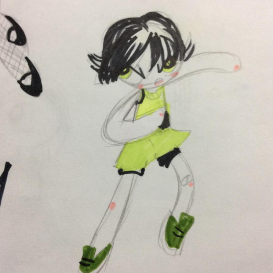 Teen Buttercup by Carranzis