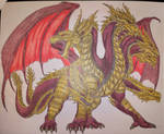 The Kaiju Files: Kaiser Ghidorah