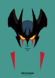 Devilman (Debiruman) by IlPizza
