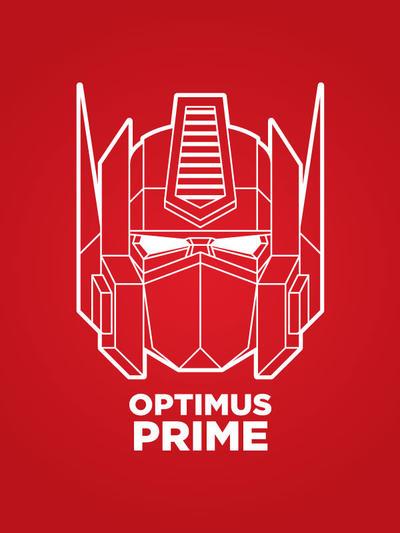 Optimus Prime - Shirt design 2 by IlPizza
