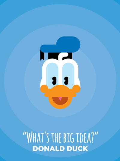 Donald Duck by IlPizza