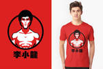 Bruce Lee Minimal Shirt by IlPizza