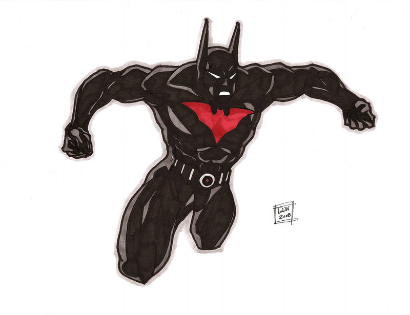 Batman Beyond Markers 10-2 by Glwills1126