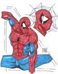 Spidey marker sketch 11-18