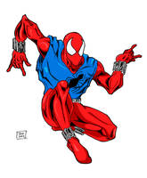 Scarlet Spider colors 1-1 by Glwills1126