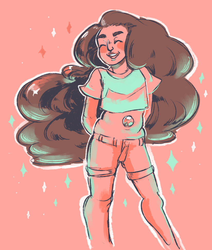 i love stevonnie so much so i doodled them ;v; here's the tumblr post [x]