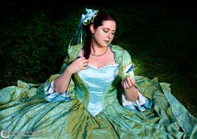 Green Fairytale Dress