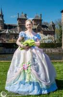 Princess and the frog fairytale dress by Phantasma-Studio