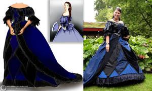 Raven dress by Phantasma-Studio