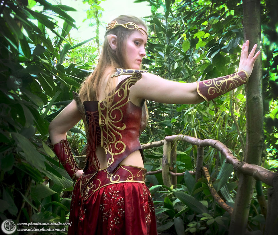 Warrior Elf costume by Phantasma-Studio