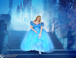 Cinderella live action gown  replica - Commission