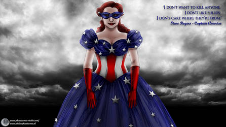 ~*~ The Star Spangled Dress ~*~ by Phantasma-Studio