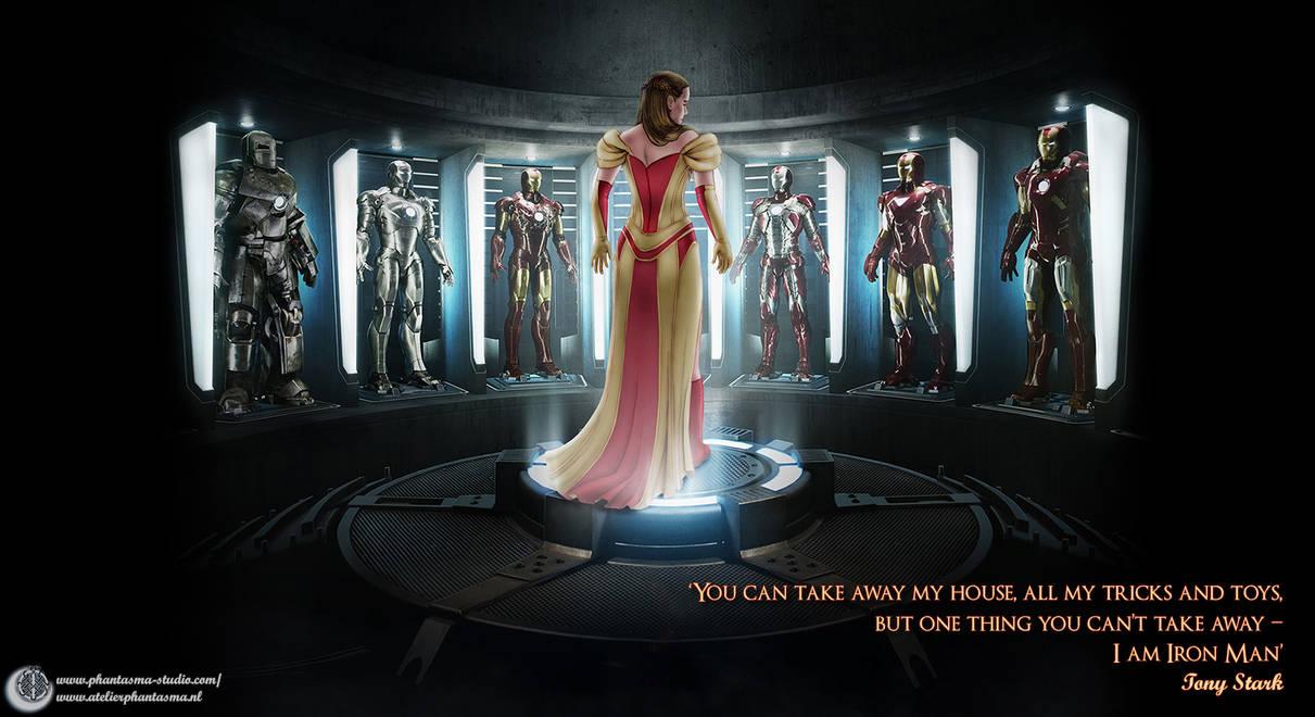 ~*~ The Iron Dress Mark 42 ~*~ by Phantasma-Studio