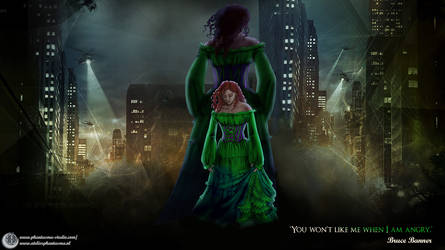 ~*~ The Code Green Dress ~*~ by Phantasma-Studio