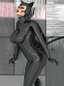 Catwoman Ready To Pounce
