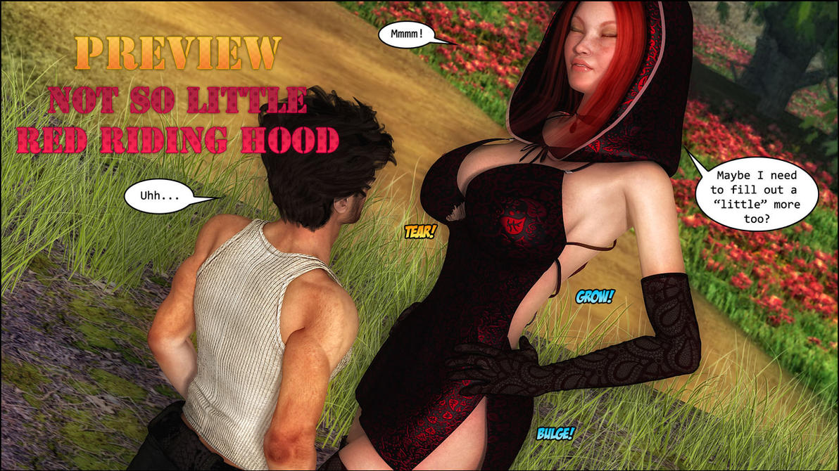 Not So Little Red Riding Hood Promo 4 by zzzcomics
