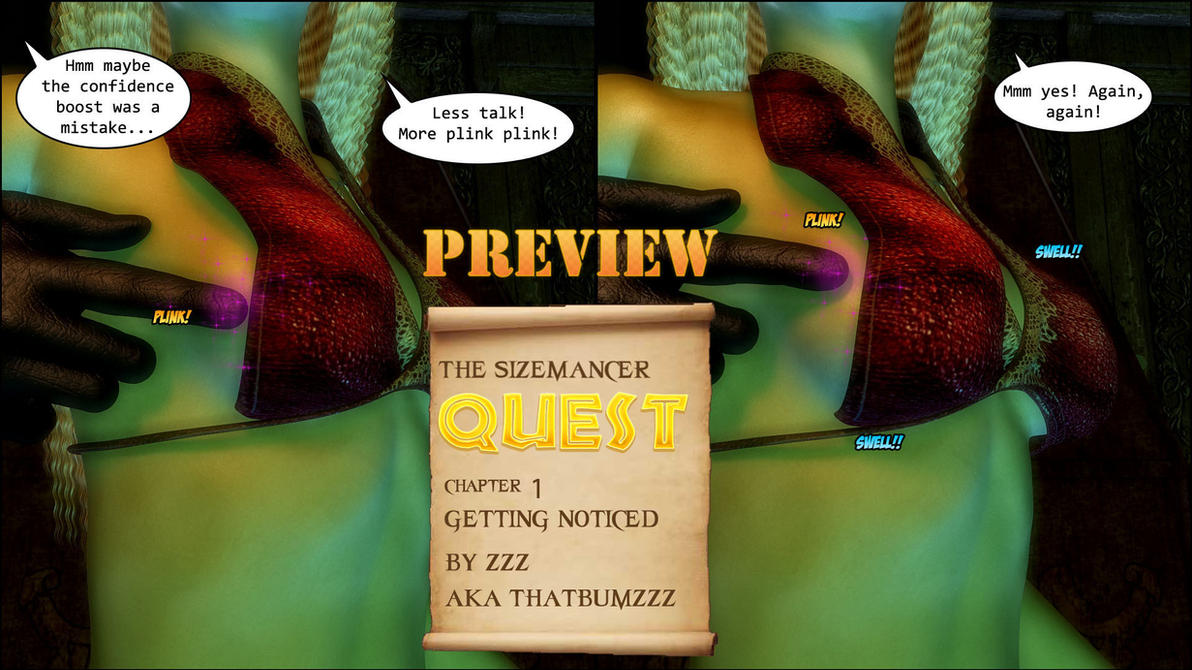 The Sizemancer Quest preview 3 by zzzcomics