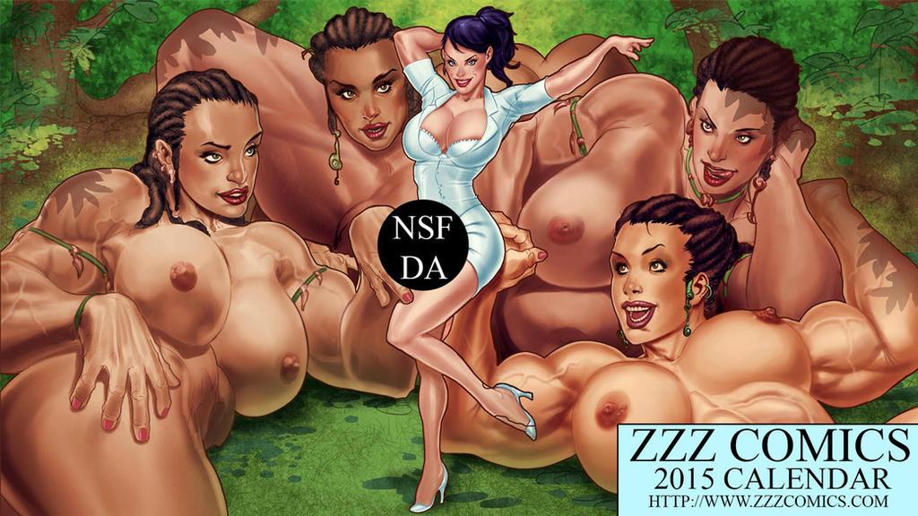 2015 ZZZ Comics Desktop Calendar May Preview by zzzcomics