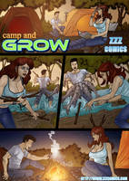 Camp and Grow preview 1 by zzzcomics