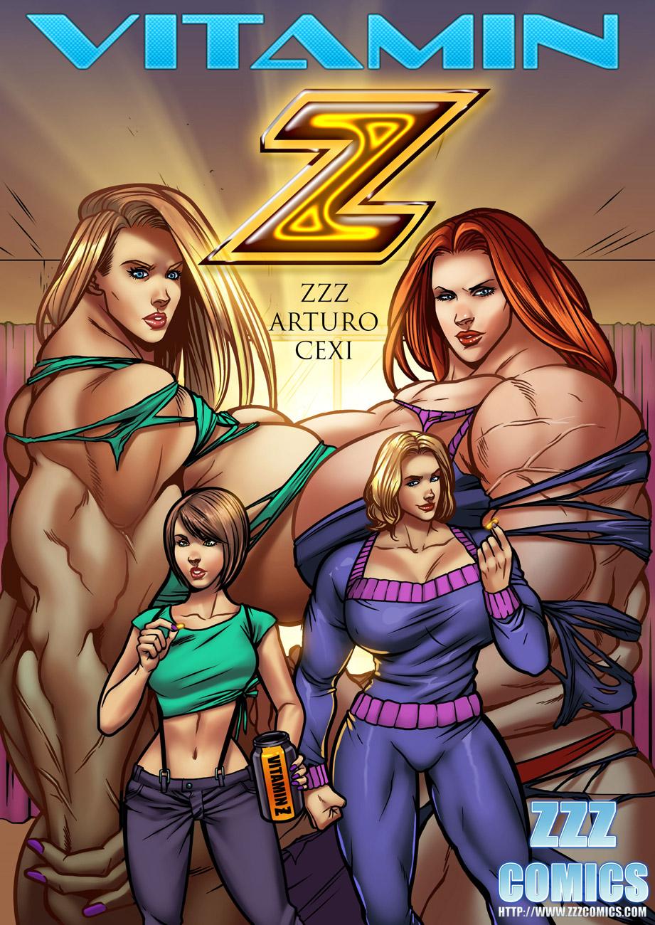 Vitamin Z Cover by zzzcomics