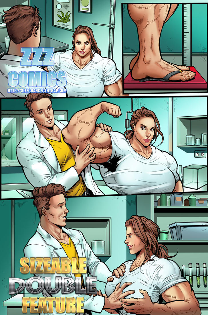 from Matteo tall muscle girl comic