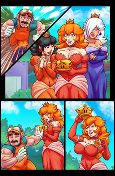 Super Sizeo Sisters Comic Preview Page