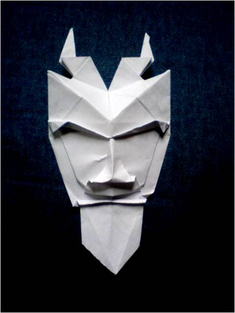 Origami Mask Images Instructions Easy For Kids