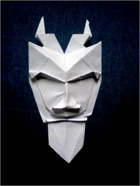 origami pan mask by silentanton123 on deviantart