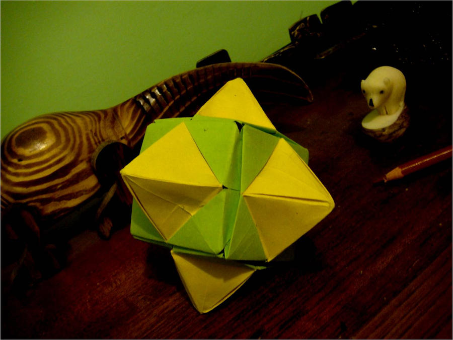 Origami Cubeoctahedron by silent-anton123