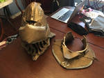 Yahar'gul Helmet and Gorget by Rexlare
