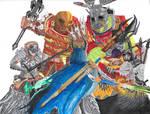 Shadow of War Fanart: Rebellion by Rexlare