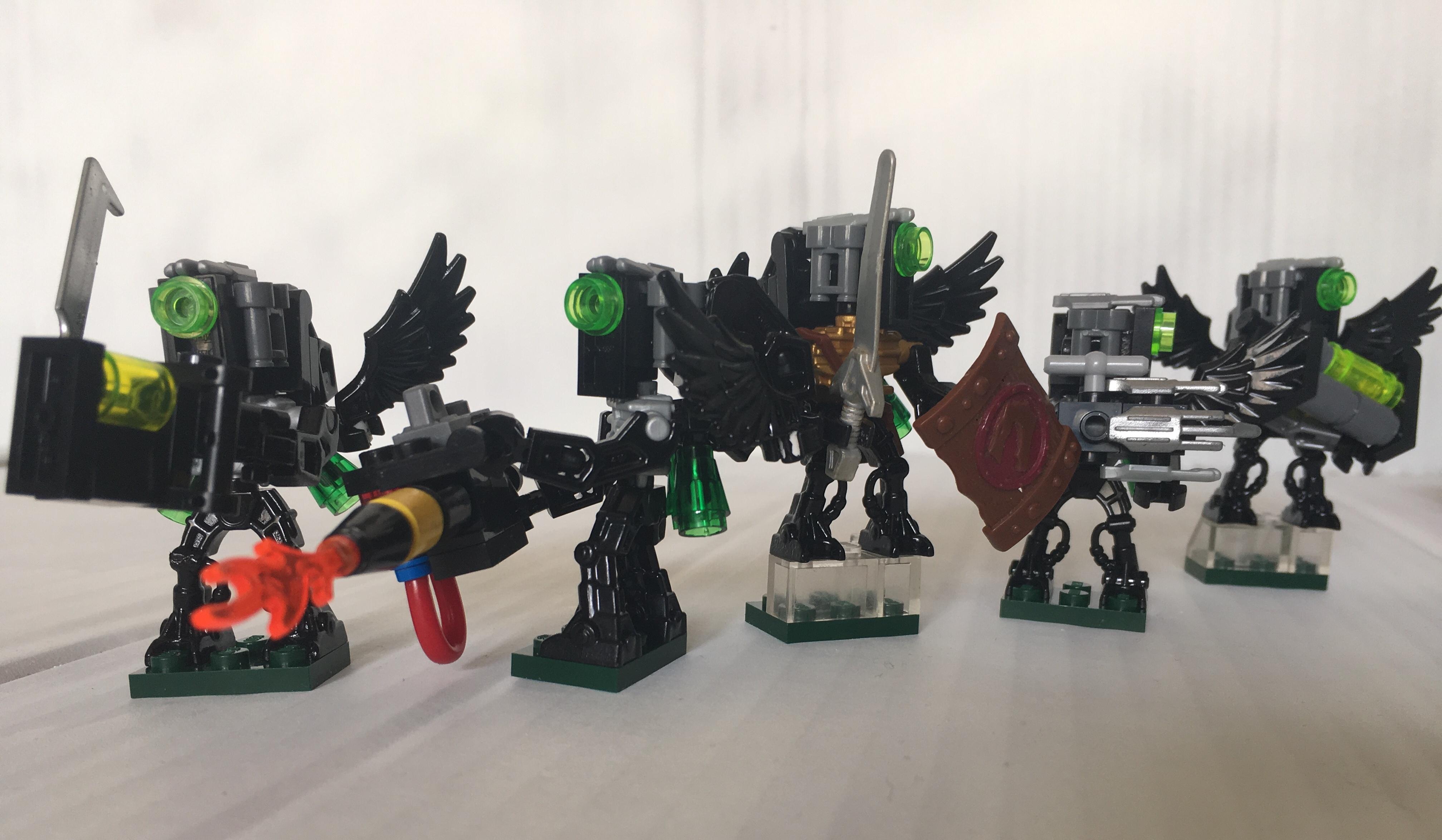 Warden:Raptor Hunter Squad- Warhammer 40K Fan army by