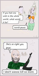 Miss universe by 13yearstheInquisitor