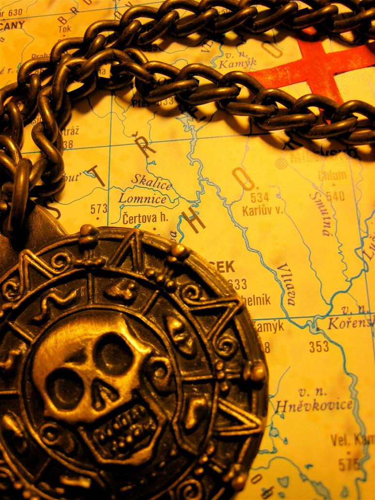Medailon of Caribbean Pirates by Katka-Horova